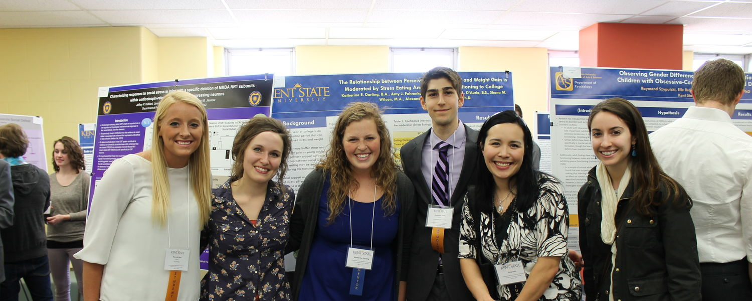 Members of Dr. Amy Sato's Lab at the 1st Annual Undergraduate Research Symposium
