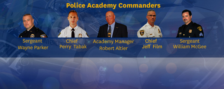Kent Police Academy Commanders