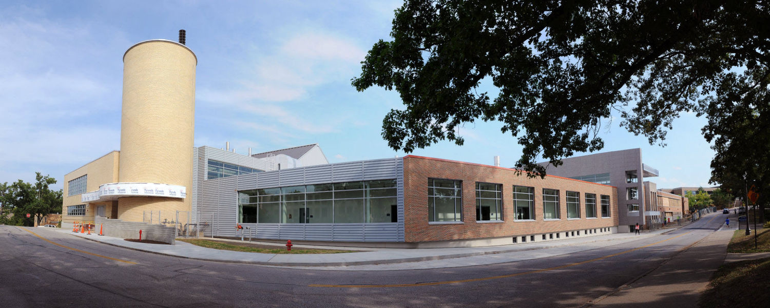 The School of Art's new Center for the Visual Arts