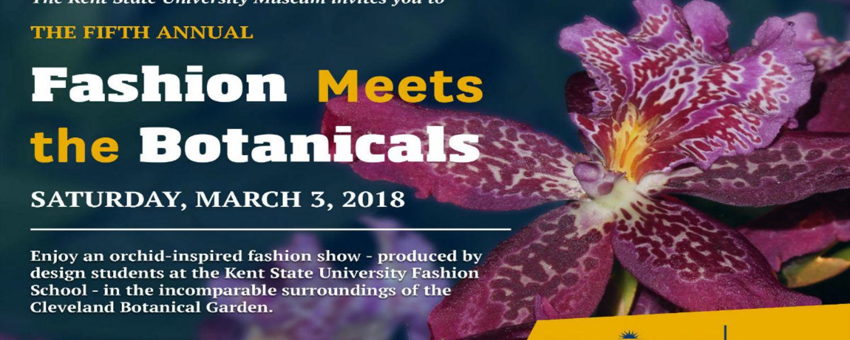 The KSU Museum Presents Fashion Meets the Botanicals March 3, 2018