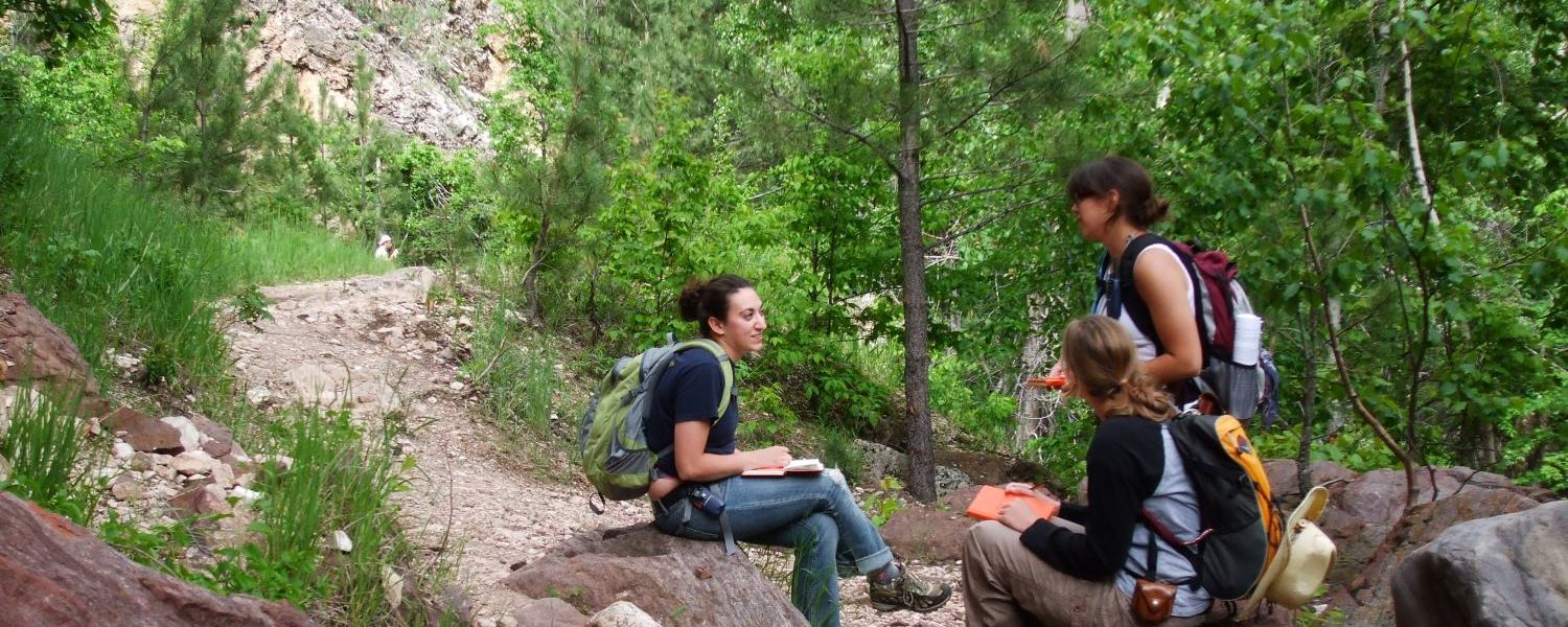 Summer Field Camp in the Black Hills of South Dakota and Wyoming.