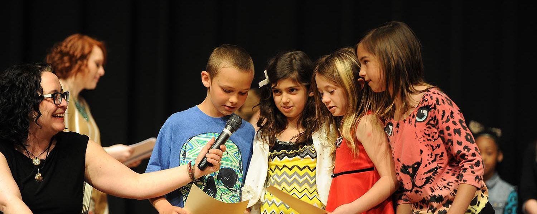 Kids Perform Poetry