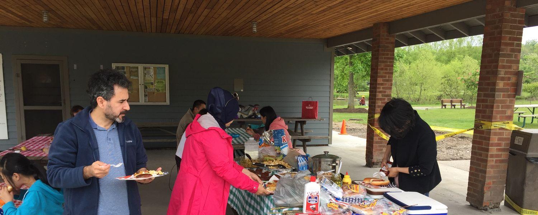 Visiting Scholars picnic
