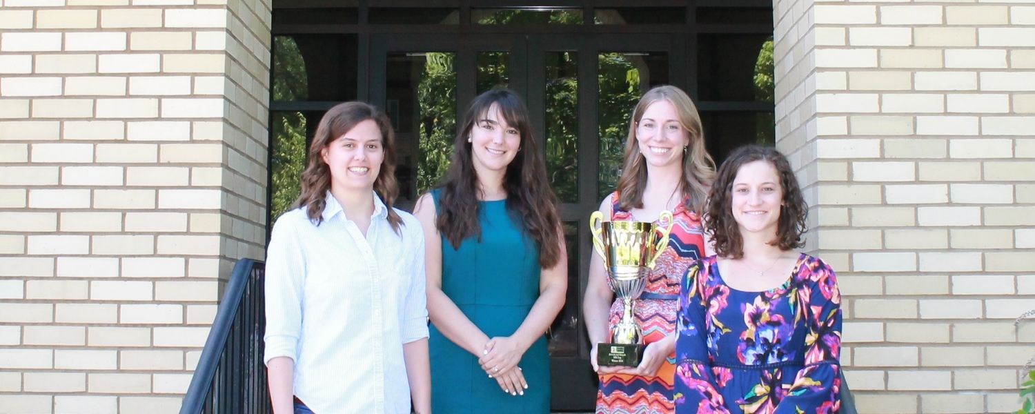 KSU graduate students win Society for Prevention International Research Cup under the mentorship of Dr. Manfred van Dulmen