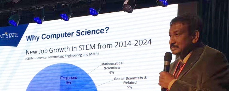 CS Chair Javed Khan Presentation in China