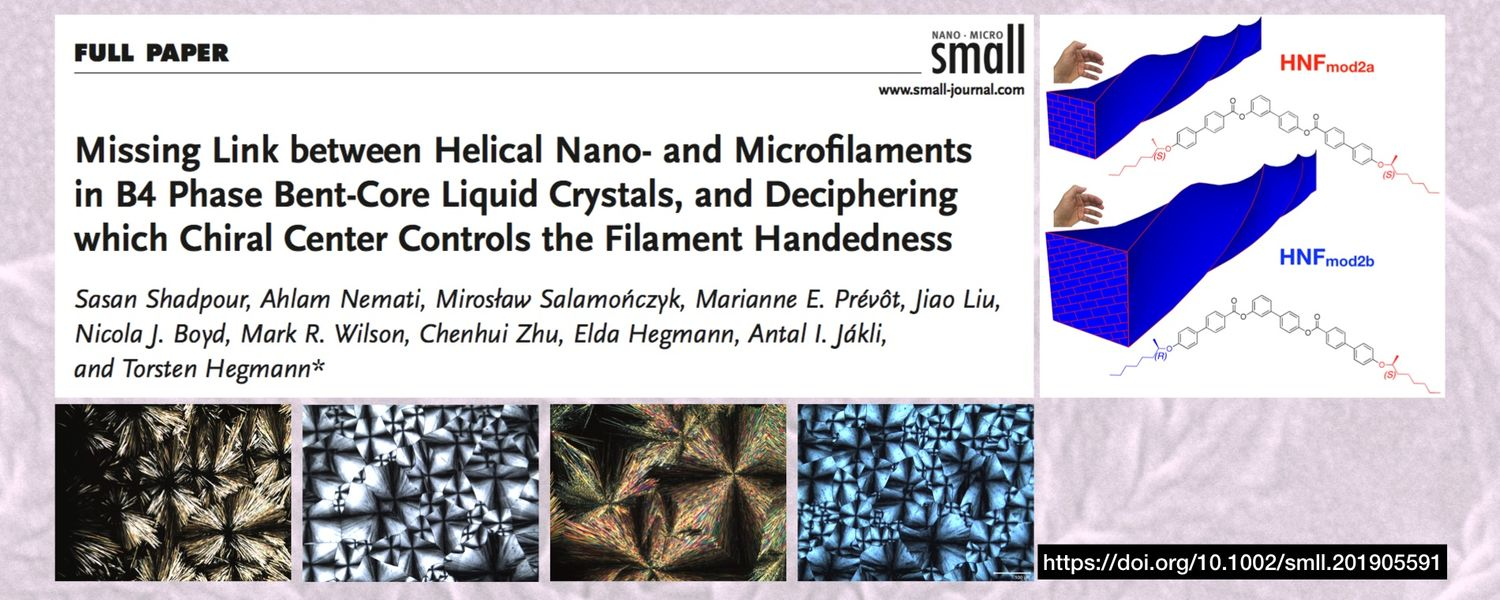 Missing Link between Helical Nano- nad Microfilaments in B4 Phase Bent-Core Liquid Crystals, and Deciphering which Chiral Cener Controls the Filament Handedness