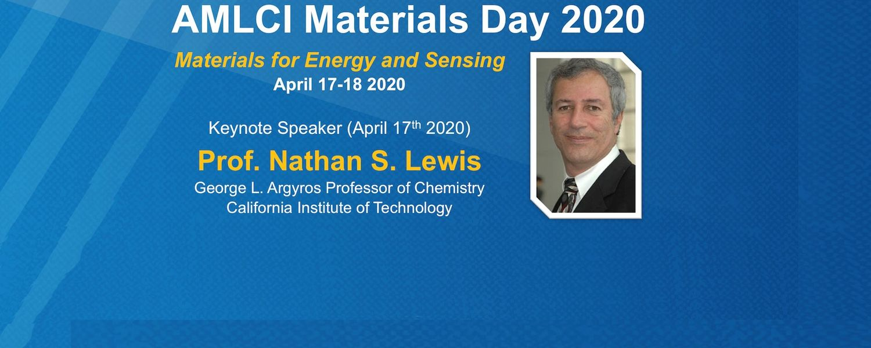 AMLCI Materials Day 2020