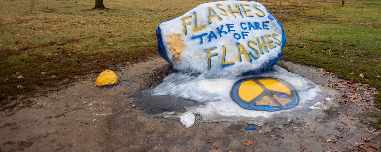 KSU Rock says Flashes Take Care of Flashes