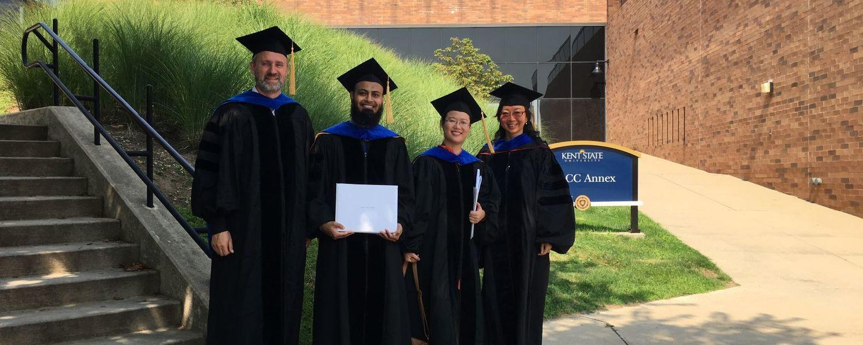 Evaluation & Measurement Program group graduation