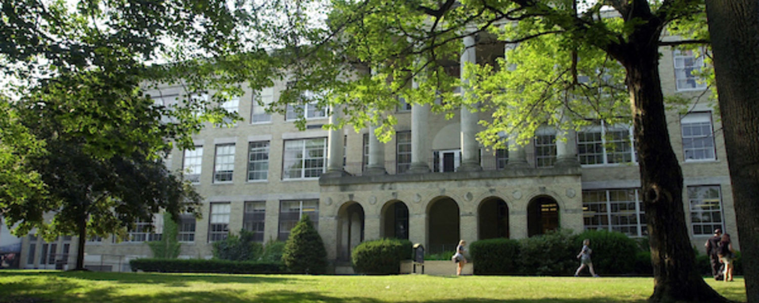 Kent Hall, home of the department of psychology.