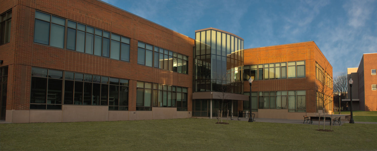 The Aeronautics and Technology building is the new facility for the College of Aeronautics and Applied Engineering