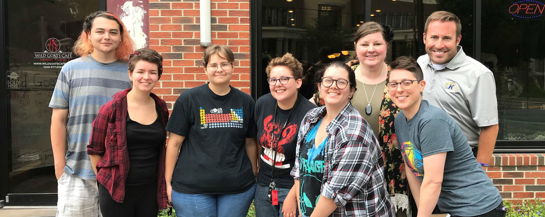 LGBTQ SC interns 2018