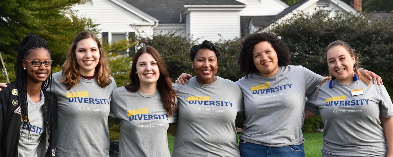 group photo of women