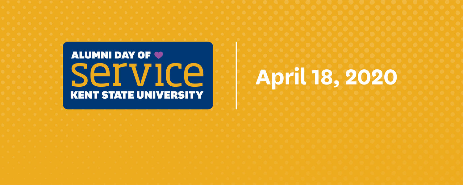 Alumni Day of Service Kent State University 4.18.2020 #FlashesGiveBack