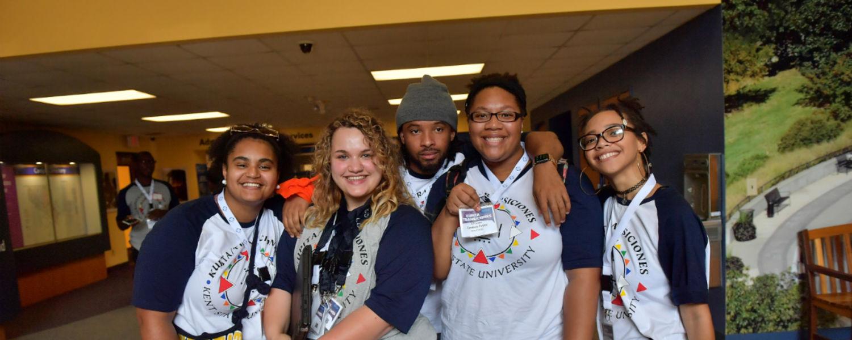 Student mentors at Kupita 2017