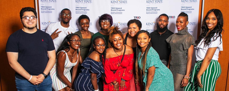 Upward Bound student group photo
