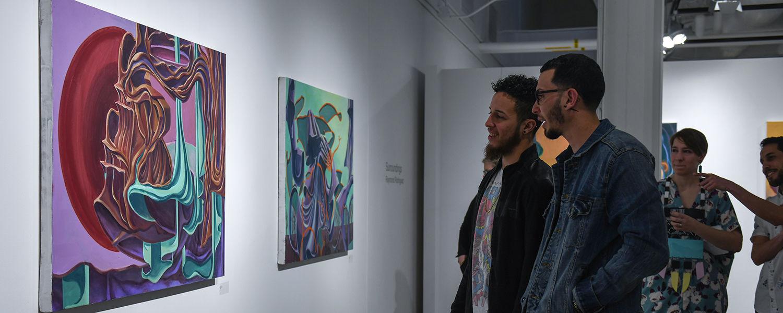 Gallery show at CVA Gallery for BFA exhibition in 2019
