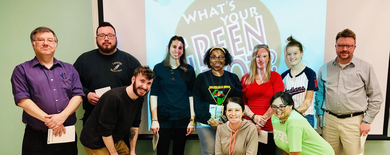 Group photo of Green Dot Training