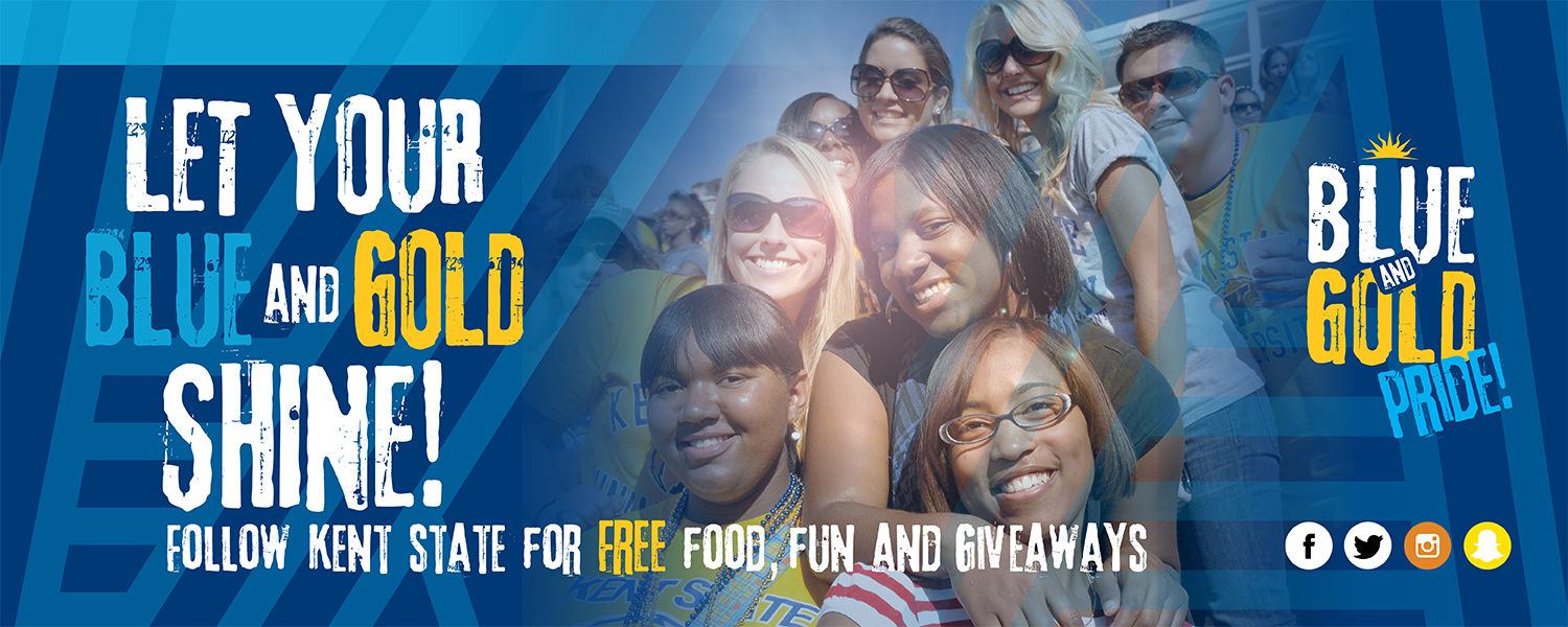 Let Your Blue and Gold Shine!