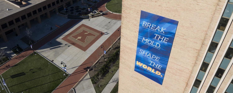 Break the mold banner