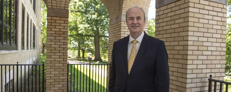 Kent State President Todd Diacon