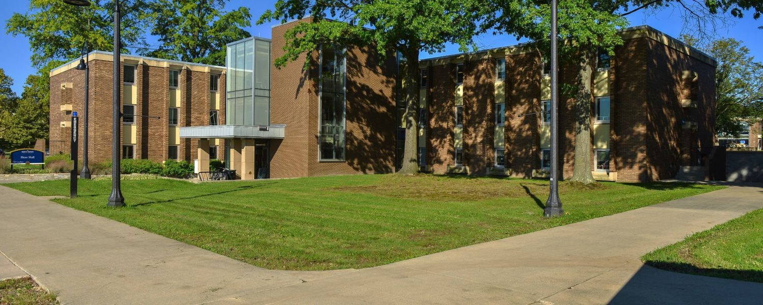 Heer Hall on the Kent Campus