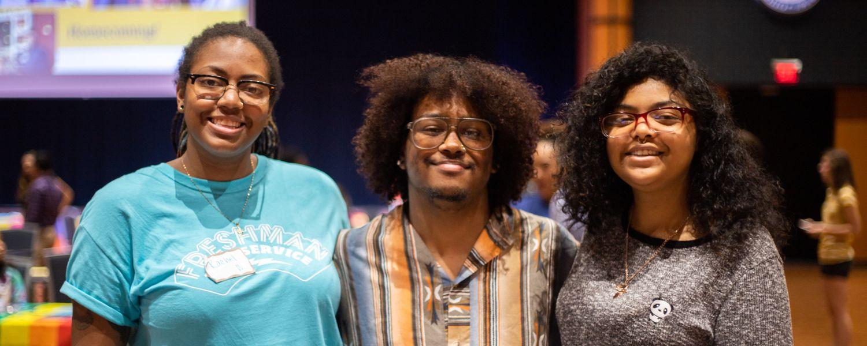students at 2019 LGBTQ+ Center kickoff