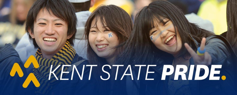 Kent State pride.