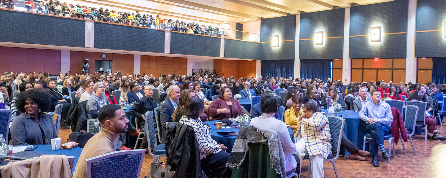 Kent State students, faculty and staff, as well as community members, filled the Kent Student Center Ballroom for the university's annual Martin Luther King Jr. Celebration.