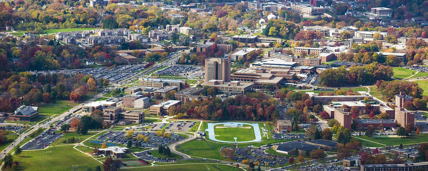 Kent State Campus View