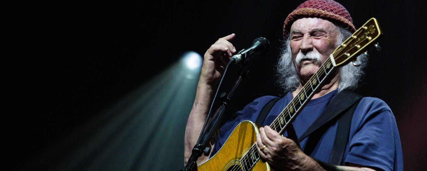 David Crosby will perform with his touring band on May 2 at Kent State University for the May 4 50th Commemoration Benefit Concert. (Photo provided by David Crosby)
