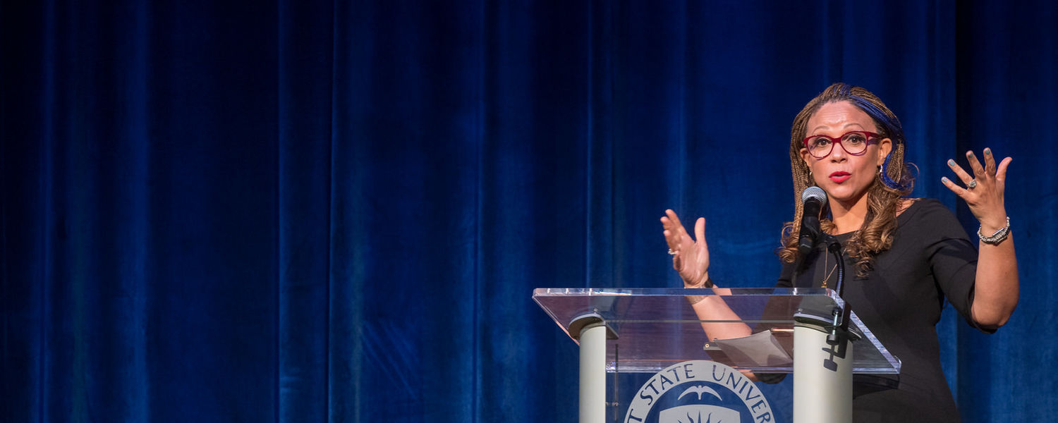 Kent State's 2020 Martin Luther King Jr. Celebration featured Melissa Harris-Perry, Ph.D., as the keynote speaker.