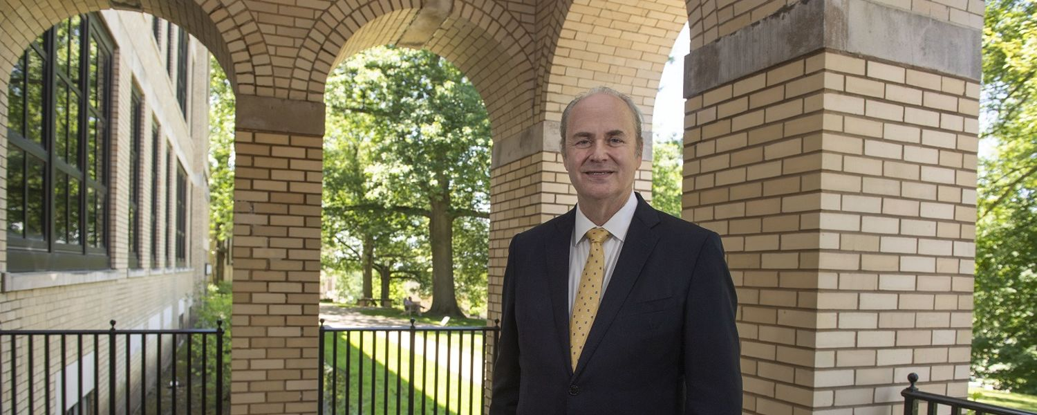 New Kent State University President Todd Diacon will serve as Kent State's 2019 Homecoming Grand Marshal on Saturday, Sept. 21.