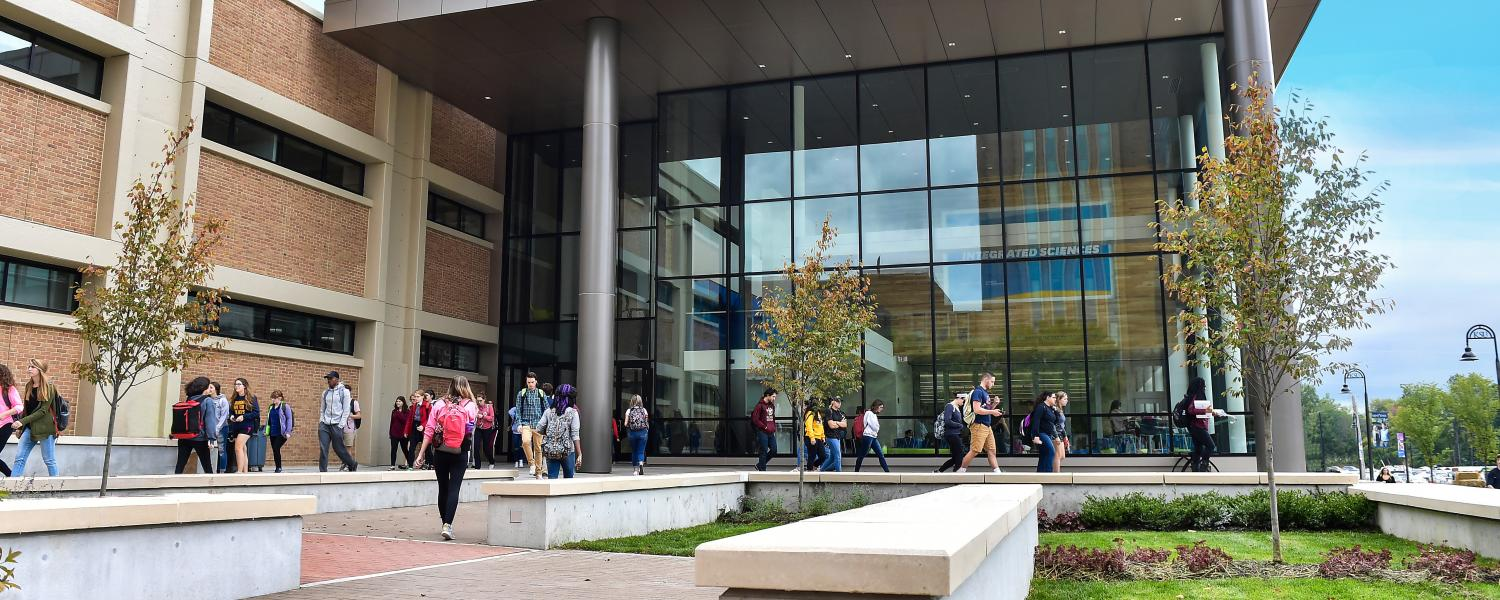 Kent State celebrates the grand opening of the new Integrated Sciences Building.
