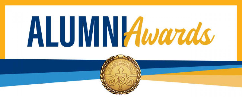 2021 Alumni Awards graphic