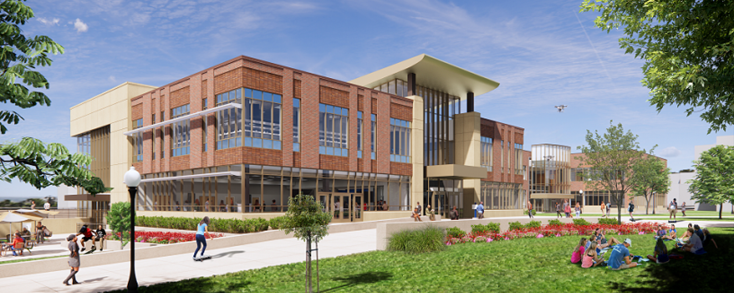 A $1.5 million gift from The Timken Foundation of Canton has allowed Kent State University to advance the groundbreaking timeline for the expansion of the Aeronautics and Engineering Building.