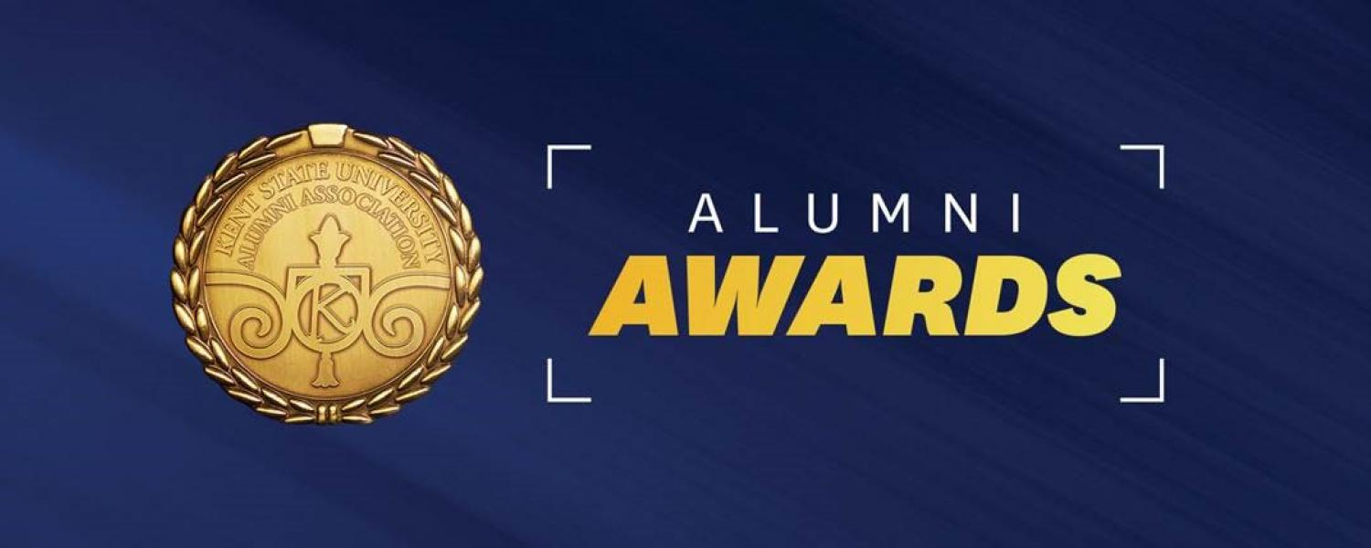 Graphic for Kent State Alumni Awards