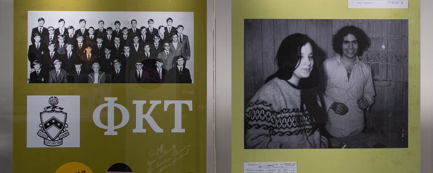 """""""Our Brother Jeff,"""" a new exhibition at Kent State University's May 4 Visitors Center, honors the life of Jeffrey Miller, one of the four Kent State students shot and killed by the Ohio National Guard on May 4, 1970."""