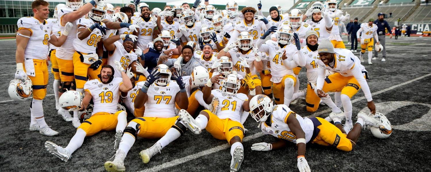The Kent State Golden Flashes football team is bowling for the fourth time in school history, having accepted a bid to the Tropical Smoothie Cafe Frisco Bowl against Utah State. The game will take place Dec. 20.