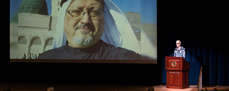Jamal Khashoggi Recognized with Award