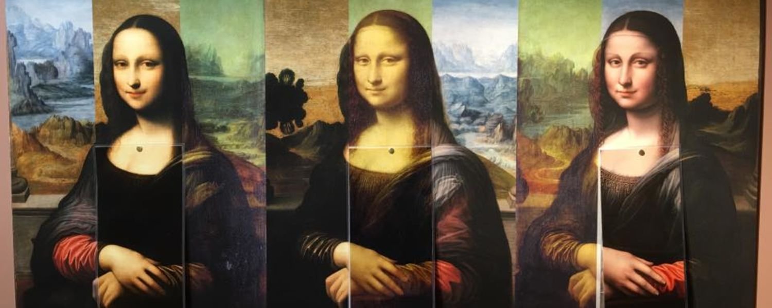 Three Images of Mona Lisa