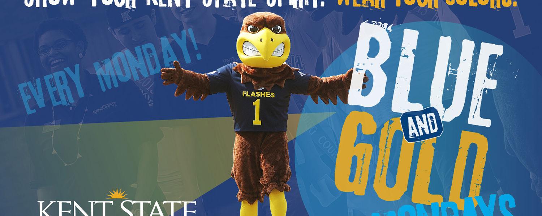 Blue & Gold Mondays all Spring Semester!