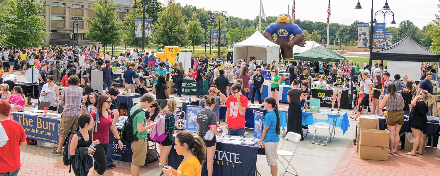 The Black Squirrel Festival, which is hosted by Kent Student Center Programming, attracts more than 3,000 students, faculty and staff, as well as members of the Kent community.