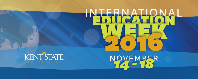 International Education Week 2016 kick-off