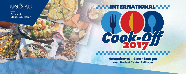 2017 International Cook-Off, November 16, Kent Student Center