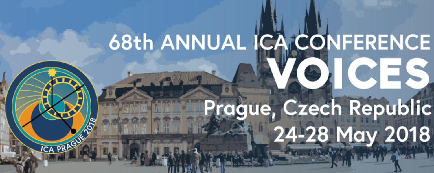 """The 68th Annual Conference of the International Communication Association (ICA) is themed """"Voices."""""""