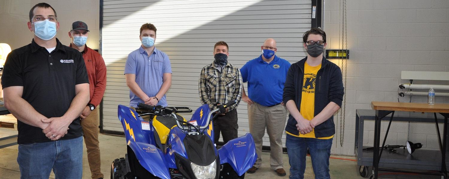 Engineering Technology Students and Instructor Unveil Their Electric-Powered ATV
