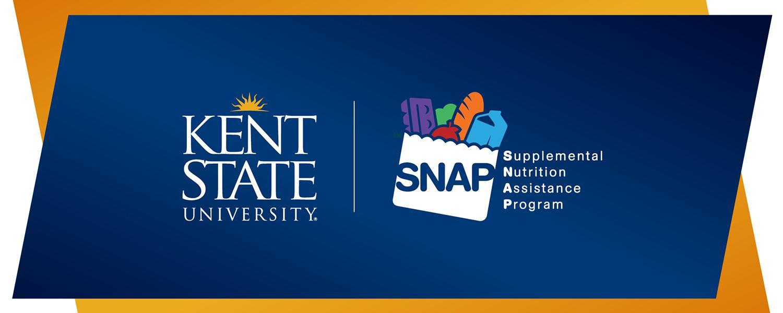 Kent State logo and SNAP logo