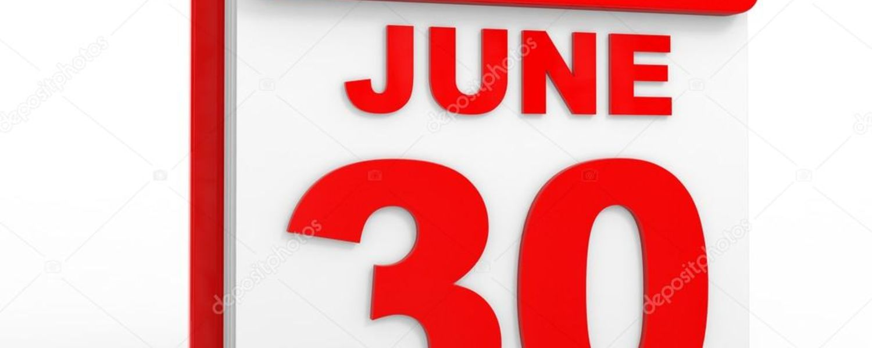 June 30 date