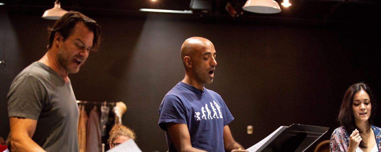 Fabio Polanco Performs in Cleveland Musical Theatre's World Premiere